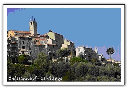 Chateauneuf le village