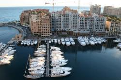 Monaco quartier de fontvieille